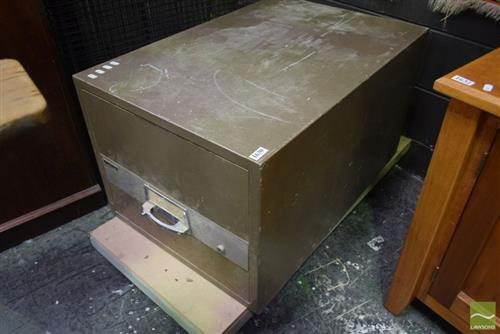 Industrial Single Drawer Filing Cabinet