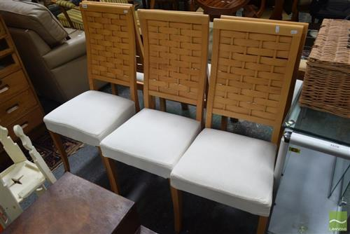 Set of 6 Italian Modern Dining Chairs