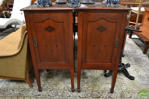 Pair of Over Size Bedroom Cabinets