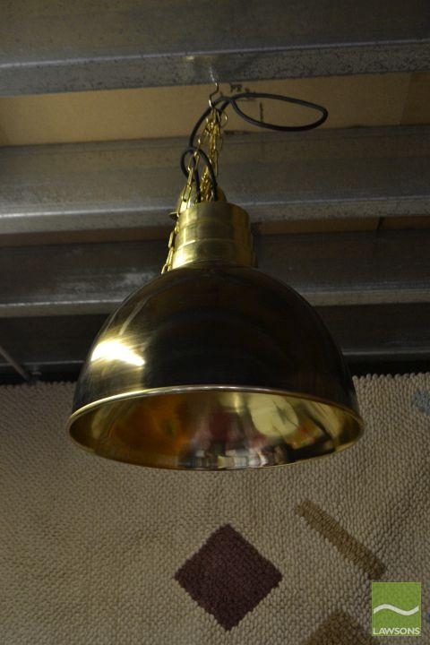 Pair of Industrial Style Light Shades