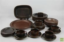 Arabia Finland Ruska Ceramic Dinner Service
