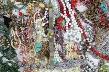 Costume Jewellery inc Fresh Water Pearls and Watches inc Silvered Items