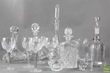Crystal & Glassware incl Waterford Glasses & Orrefors Decanters