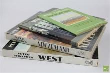Peter Mcintyres New Zealand and West Books inc Wellington New Zealand with New Zealand Land for The Artist by Robert Johnson