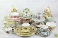 Teaware Collection incl Shelly, Royal Albert & Aynsley