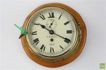 USS Co. Smiths Empire British Ship's Clock