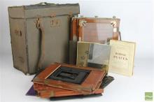 Vintage Camera Plates In Bag
