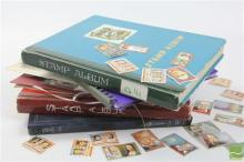 World Stamps In Box Incl Stockbook Of Poland, Stanley Gibbons Folders & History Of Olympics Ltd Edt