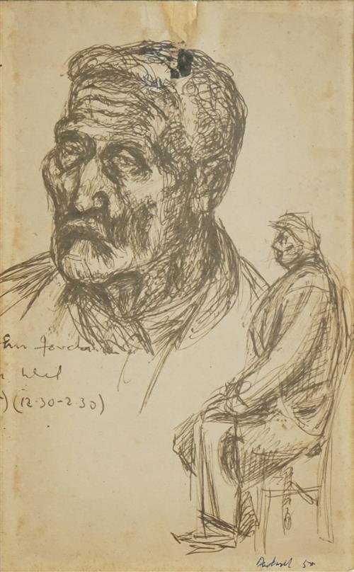 Lyon Dadswell (1908 - 1986) - Untitled, 1955 24 x 15cm