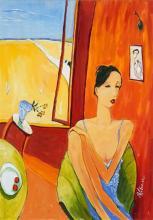 Marek Wilinski (1949 - ) - High Noon 79 x 55cm