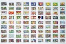 James Rizzi (1950 - 2011) - Poster 'Collective Works', 2002 63.5 x 87.5cm