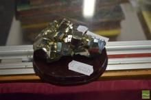 Mounted Pyrite Specimen