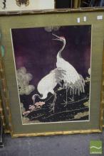 Set of 3 Oriental Framed Prints