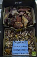 Box of Uncut Australian Mookaite