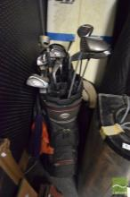 Set of Golf Clubs in Bag incl. Callaway Drivers