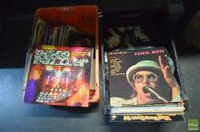 Two Crates of LP Records