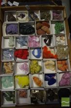 Box of Specimen Crystals