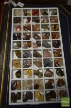 Tray of 50 Unusual Gem Varieties