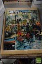2 Signed Volumes: Traudi Allen 'John Perceval' Melbourne University Press 1992 & 'Hal Missingham Sketchbook: with an introduction by...
