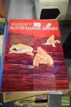 Collection of Art Books on Australian Art History incl R.Hall 'Australians Aware' Ure Smith 1975 (9)