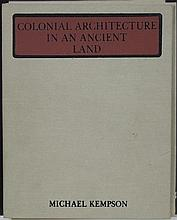 Michael Kempson (1961 -) - Colonial Architecture in an Ancient Land 17.5 x 12cm each