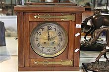 Carl Saboy Vienna Engraved Mantle Clock (no mechanism)