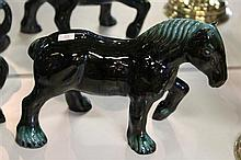 Blue Mountains Pottery Draught Horse