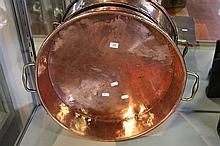 Georgian Copper Jam Pan