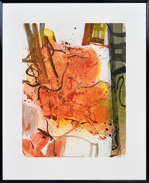 Michael Buzzacott (1950 - ) - Untitled (Abstract) 65 x 50cm