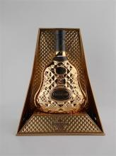 1x Hennessy XO 'Exclusive Collection' Cognac - gold faceted bottle in presentation case, 700ml