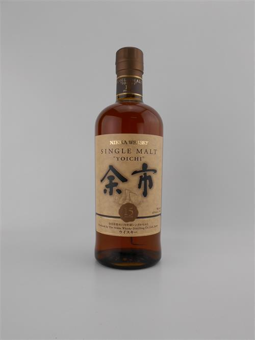 1x Nikka Whisky 15YO 'Yoichi' Single Malt Japanese Whisky