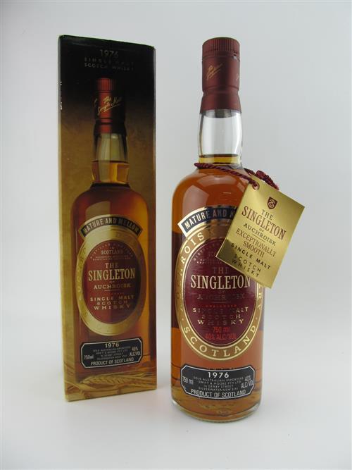 1x 1976 The Singleton of Auchroisk Single Malt Scotch Whisky - in box
