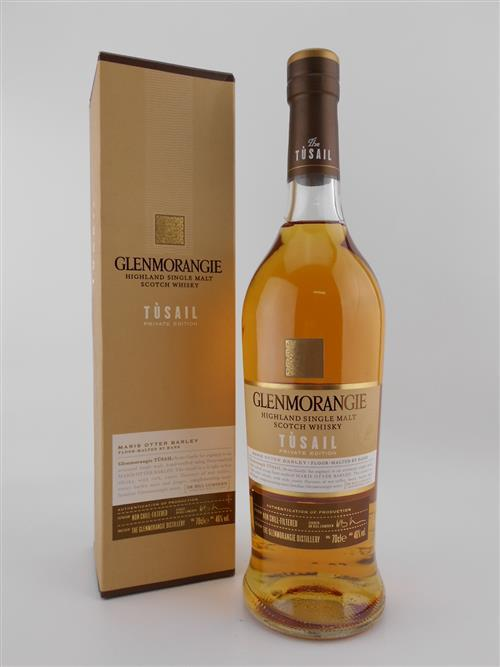 1x Glenmorangie 'Tusail' Single Malt Scotch Whisky - 46% ABV, private edition in box