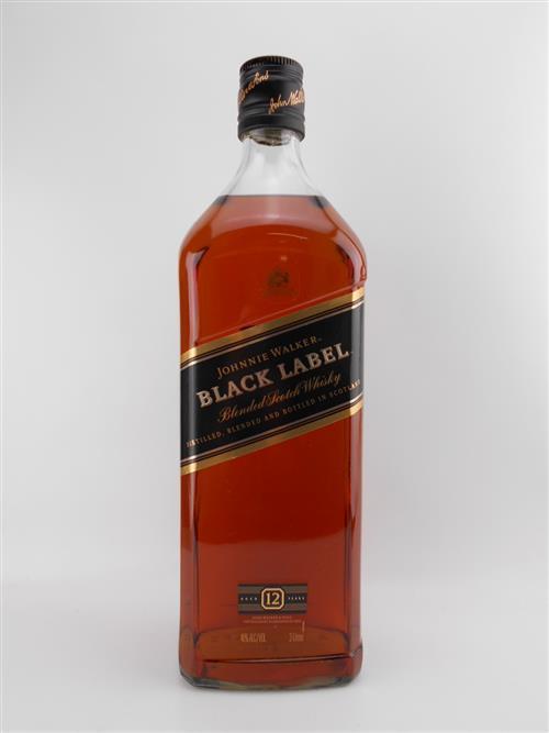1x Johnnie Walker 12YO 'Black Label' Blended Scotch Whisky - 3000ml