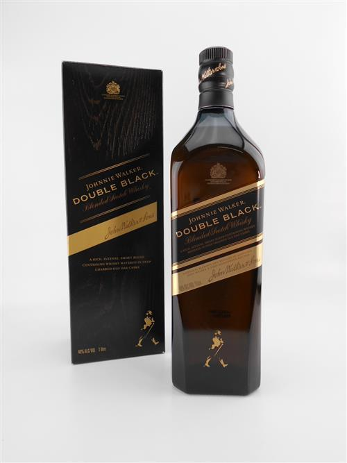 1x Johnnie Walker 'Double Black' Blended Scotch Whisky - 1000ml in box