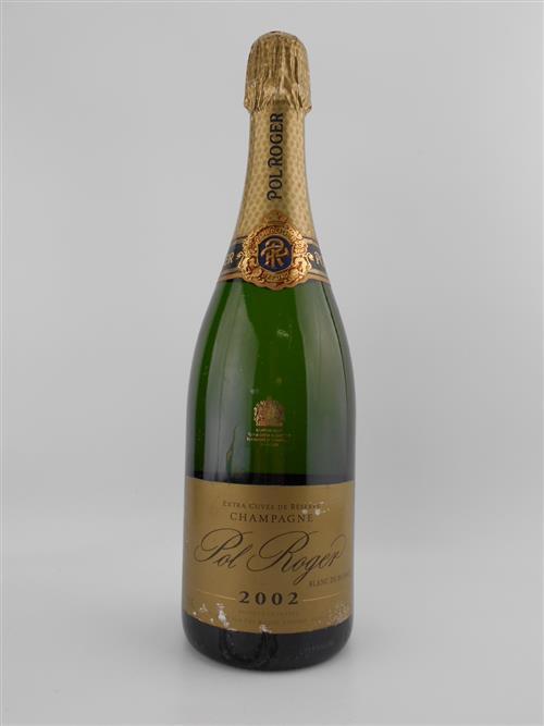 1x 2002 Pol Roger 'Extra Cuvee de Reserve' Blanc de Blancs, Champagne