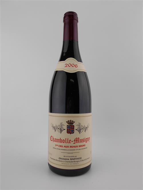 1x 2006 Ghislaine Barthod 'Aux Beaux Bruns' 1er Cru, Chambolle Musigny