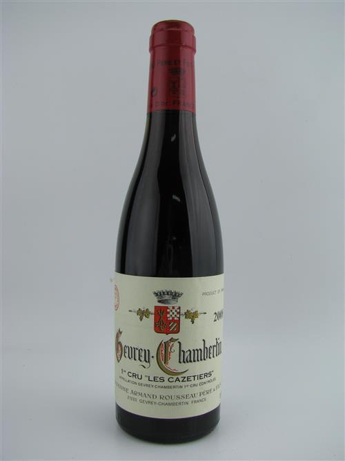 1x 2008 Domaine Armand Rousseau 'Les Cazetiers' 1er Cru, Gevrey-Chambertin - 375ml half-bottle