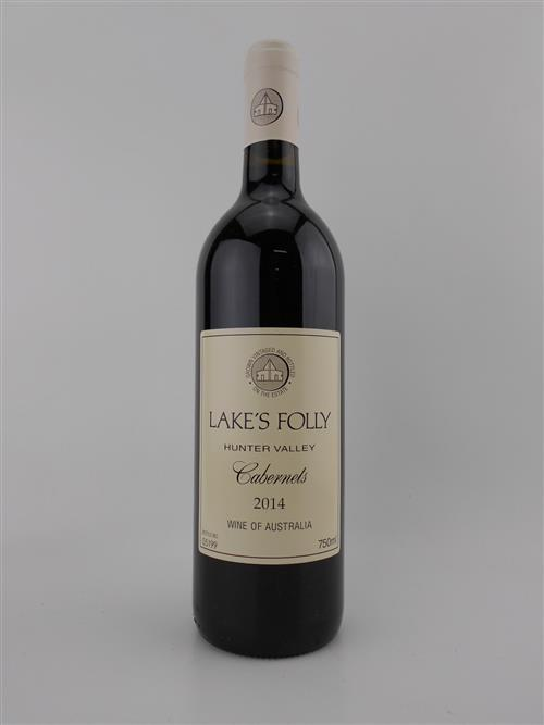 1x 2014 Lakes Folly Cabernets, Hunter Valley