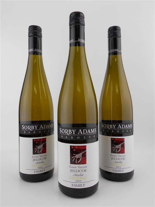 3x 2013 Sorby Adams 'Amelia' Riesling, Eden Valley