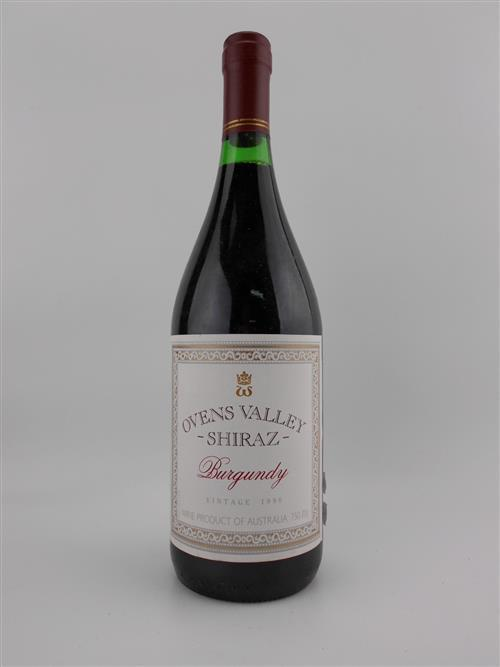 1x 1990 Wynns Winegrowers 'Ovens Valley' Burgundy (Shiraz)