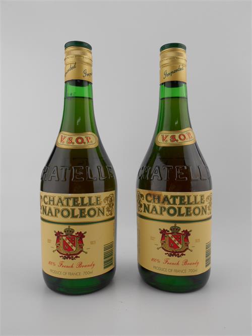 2x Chatelle Napoleon VSOP French Brandy