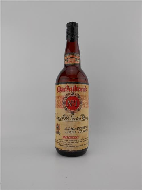 1x AL MacAndrew & Co. 'No.1' Scotch Whisky - very old bottling, some losses