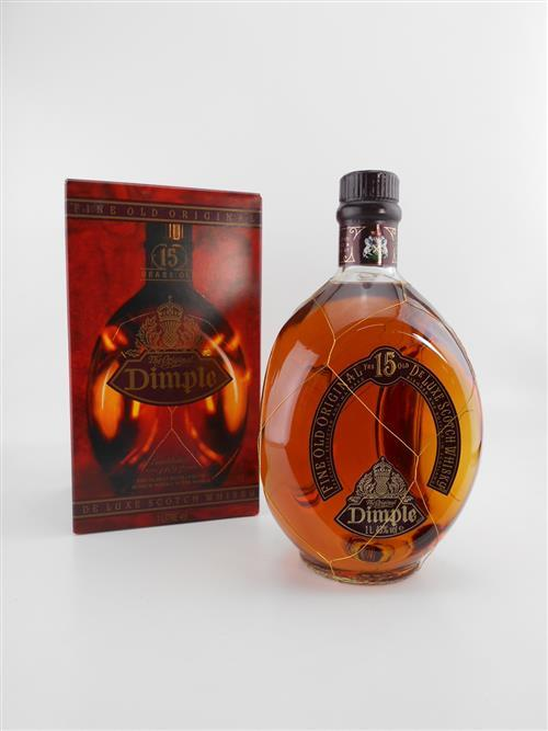 1x Haig 15YO 'Dimple' Blended Scotch Whisky - 1000ml in box
