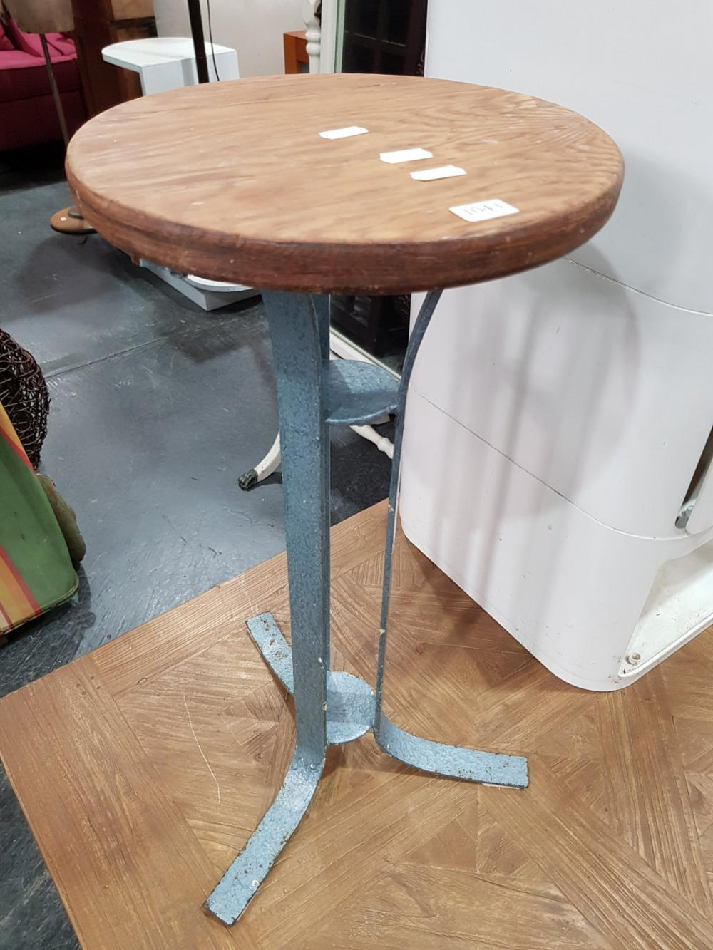Timber Top Side Table