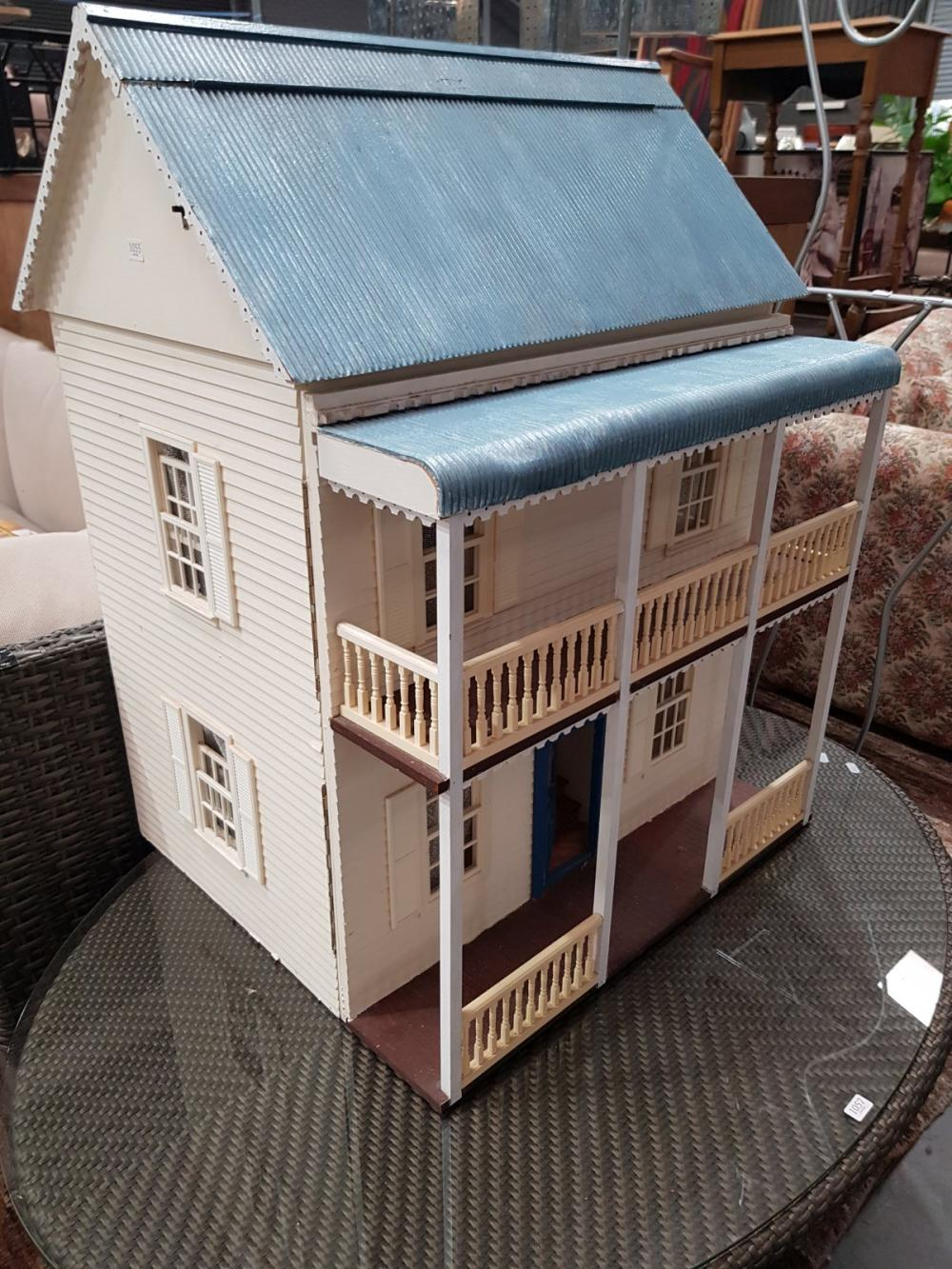 Large Timber Dolls House