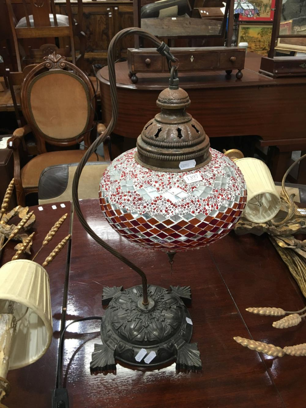 Moroccan Hanging Table Lamp