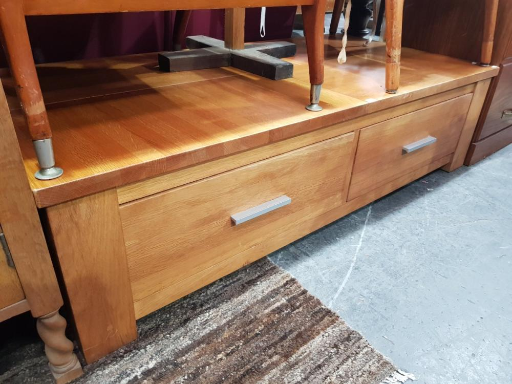 Large Modern Coffee Table with Drawers