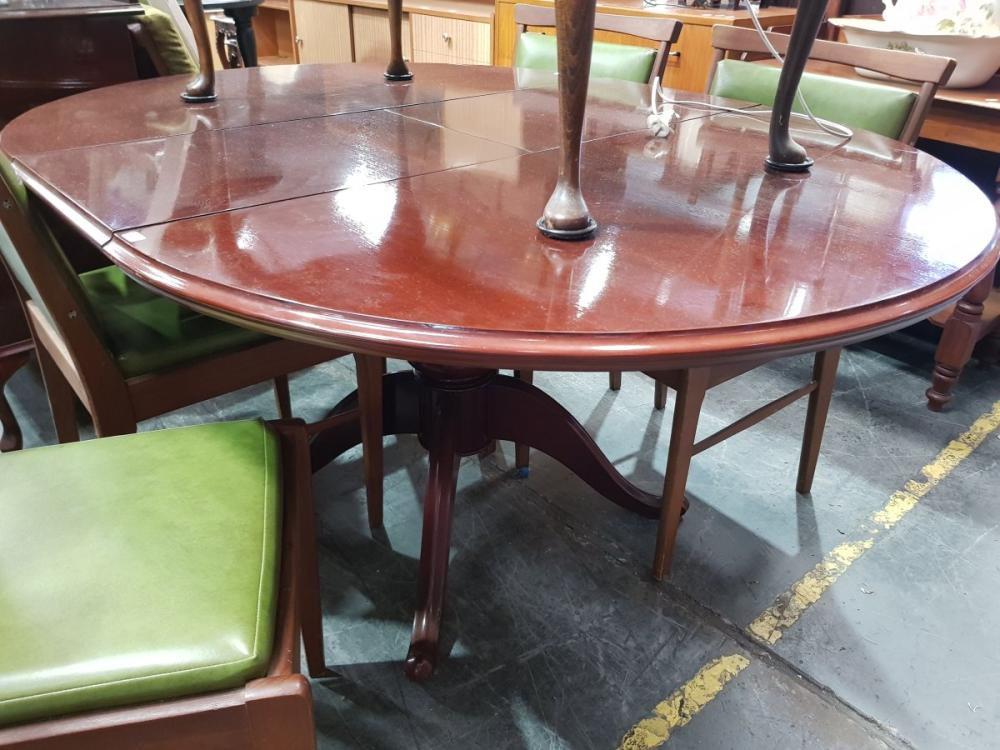 Timber Extension Dining Table