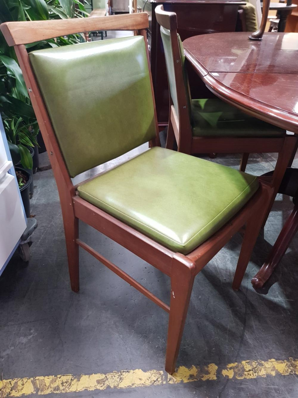 Set of Four Don Rex Vintage Dining Chairs